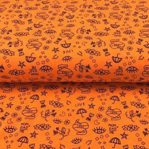 Úplet NEON Tattoos orange