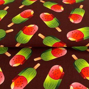 Úplet Melon ice lolly digital print